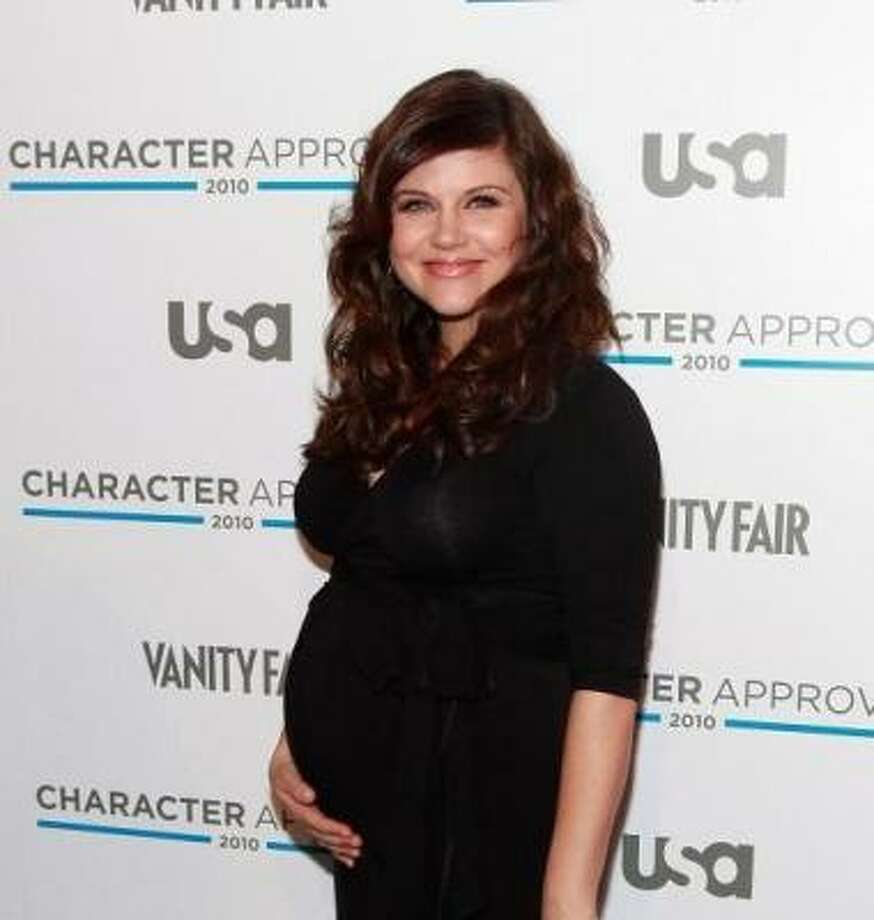 Tiffani-Amber Thiessen, 2010, age 36.