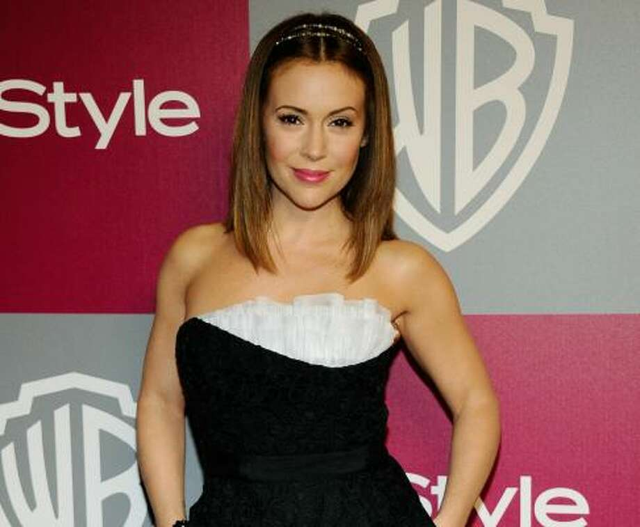 Alyssa Milano, 2011, age 38.