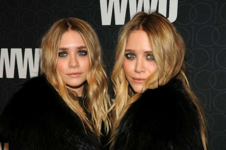 Ashley Olsen and Mary-Kate Olsen, 2010, age 24. 