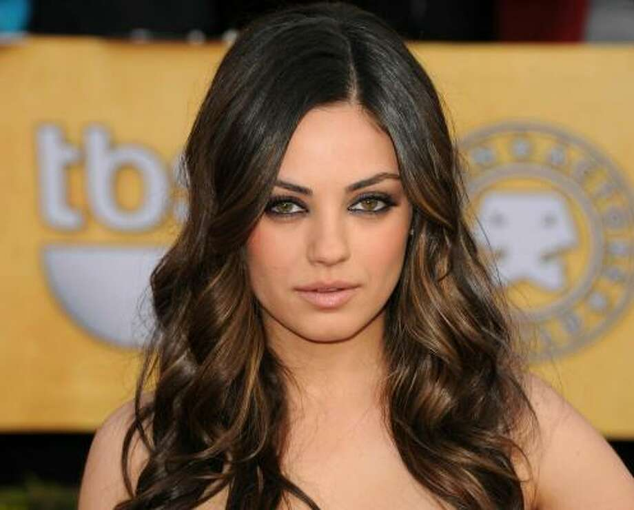 Mila Kunis, 2011, age 27. 