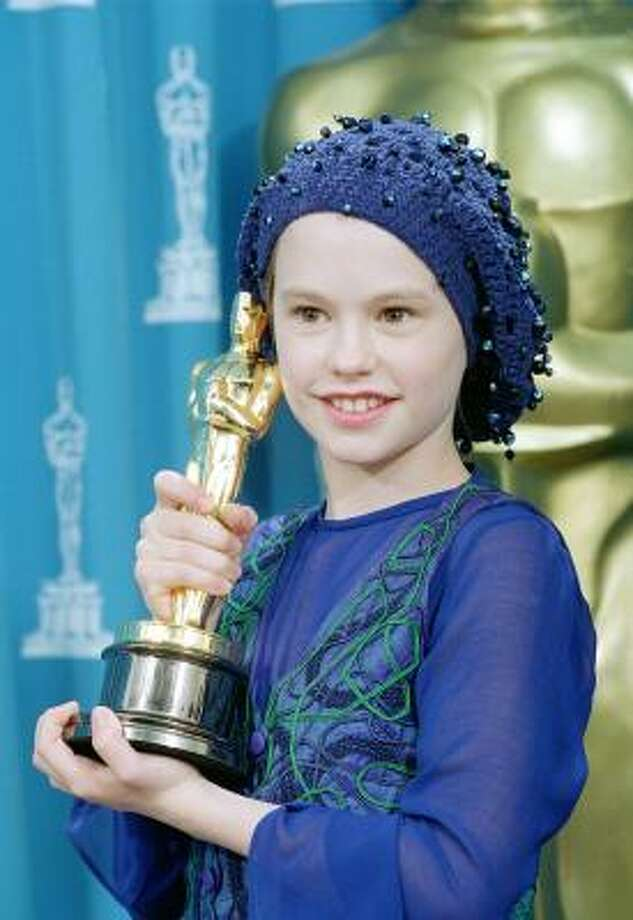 Anna Paquin, 1994, age 12.  The Piano; Jane Eyre; Fly Away Home. Photo: AP