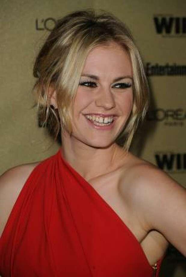 Anna Paquin, 2010, age 28.  Open House; True Blood; Scream 4. Photo: Jason Merritt, Getty Images