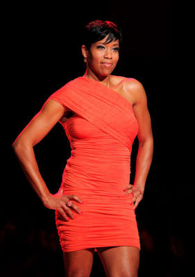 Regina King, 2010, age 39. This Christmas; Our Family Wedding; Southland. Photo: Jemal Countess, Getty Images For Heart Truth