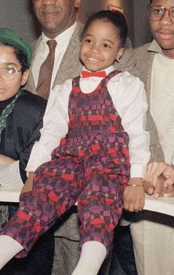 Keshia Knight Pulliam, 1986, age 7.  The Last Dragon; The Cosby Show. Photo: AP