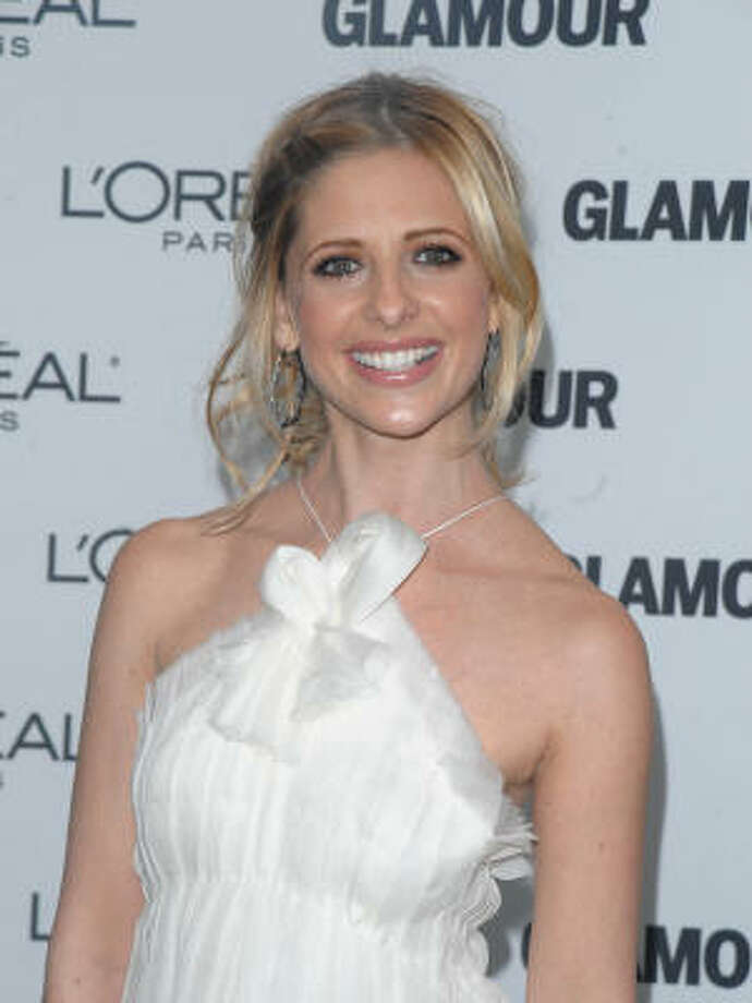 Sarah Michelle Gellar, 2008, age 31.