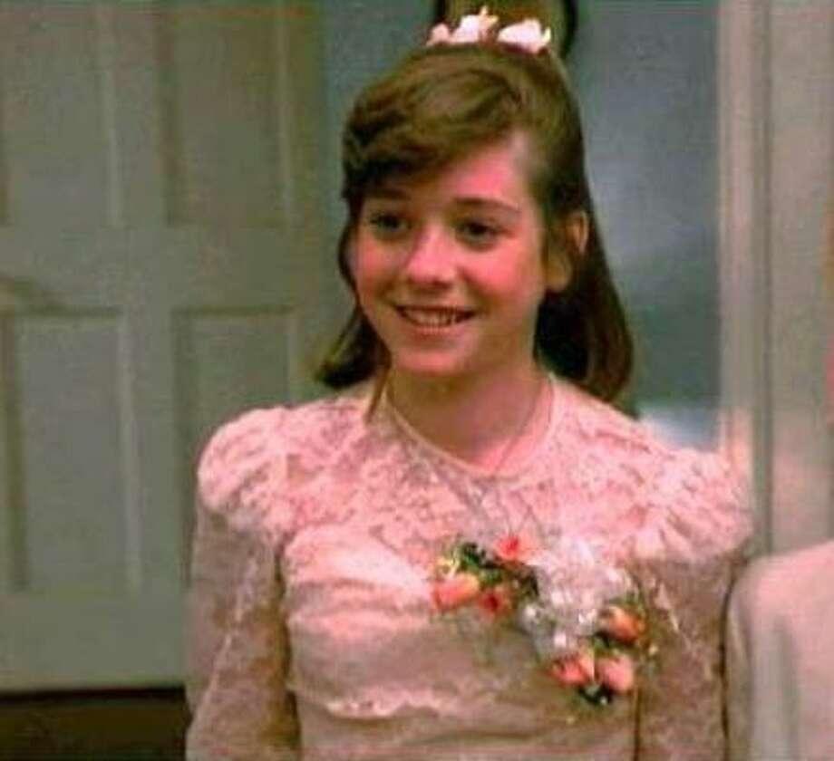 Alyson Hannigan, 1988, age 14. Impure Thoughts; My Stepmother Is an Alien; Free Spirit. Photo: Weintraub Entertainment Group