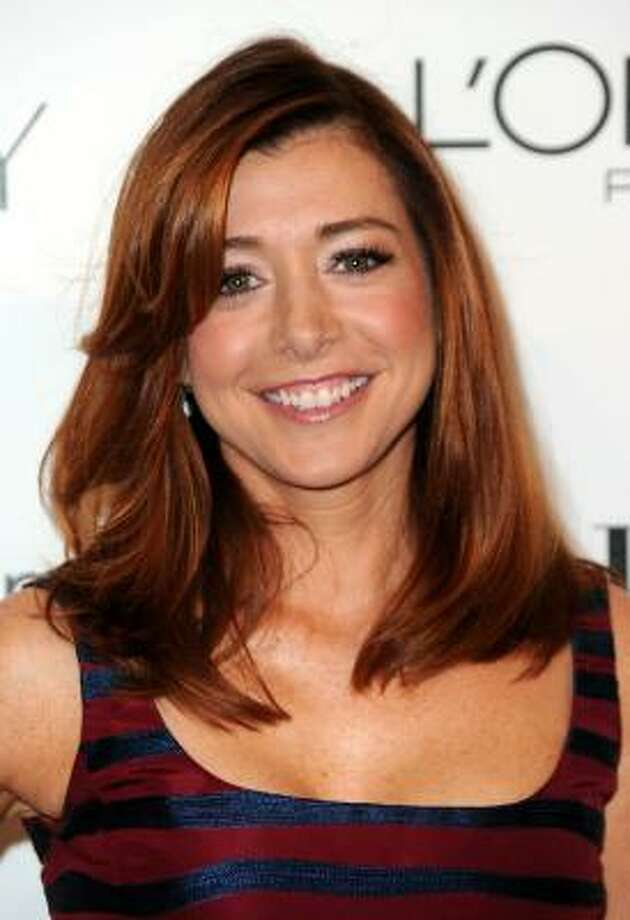 Alyson Hannigan, 2010, age 36.
