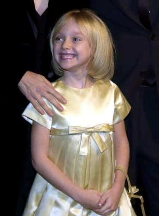 Dakota Fanning, 2001, age 7.