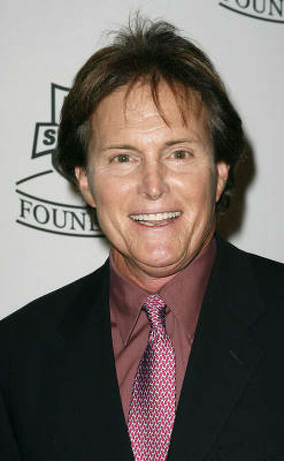 Believe it or not, Bruce Jenner didn't always look like this.  Photo: Gus Ruelas, AP