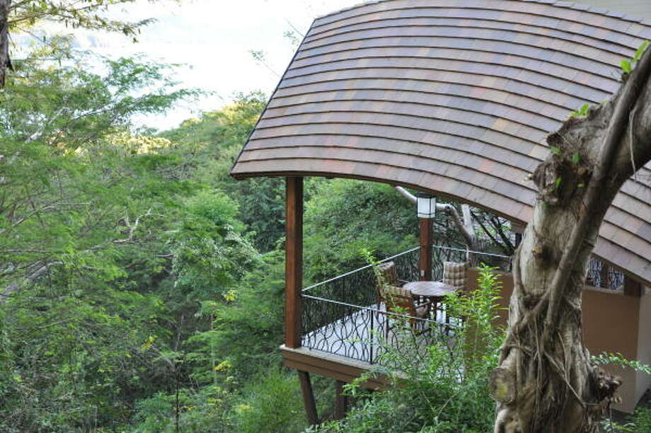 A quiet spot at the Four Seasons Costa Rica in Guanacaste. Photo: Melissa Ward Aguilar, Staff
