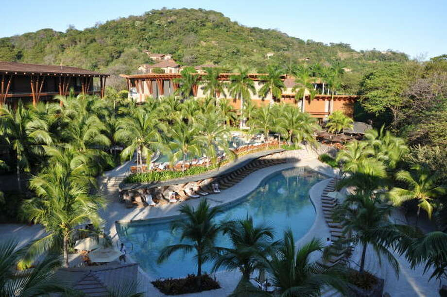 Poolside at the Four Seasons Costa Rica in Guanacaste. Photo: Melissa Ward Aguilar, Staff