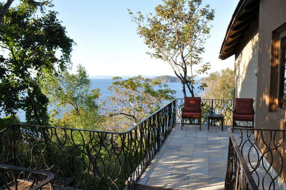 The villas at the Four Seasons Costa Rica in Guanacaste have treetop views. Photo: Melissa Ward Aguilar, Staff