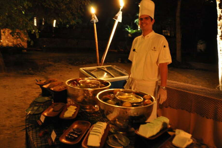 The Four Seasons Costa Rica offers a romantic dinner on the beach in Guanacaste. Photo: Melissa Ward Aguilar, Staff