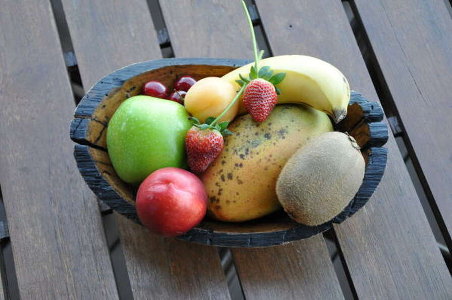 A sampling of fruit awaits guests at Four Seasons Costa Rica in Guanacaste.