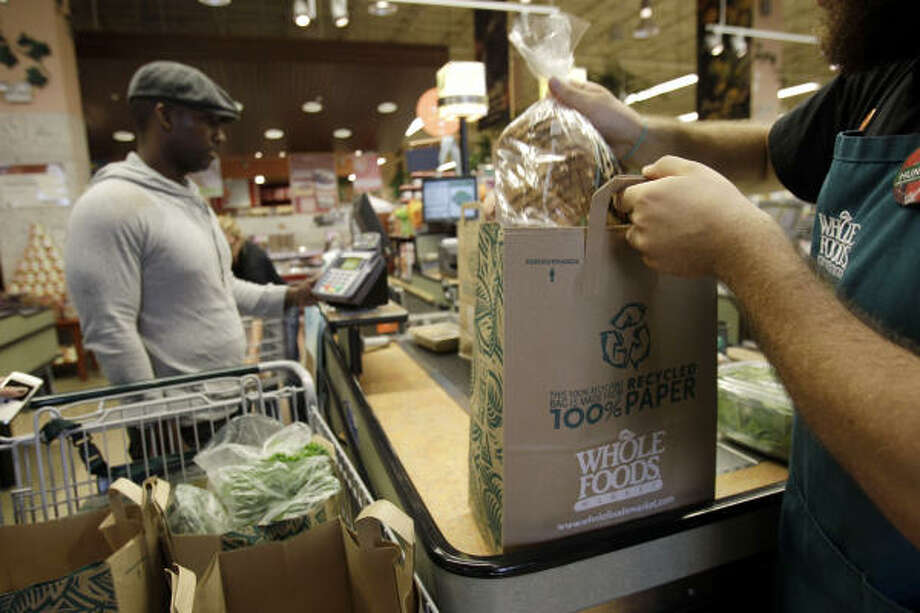 Whole Foods MarketJohn Mackey, a Houston native and the CEO of Austin-based Whole Foods, takes food seriously, carrying natural products by companies that treat animals and the environment with care. These sensibilities, along with his active yoga and meditation practice, come from his Buddhist faith, CNN Belief Blog points out. Photo: Lynne Sladky, AP