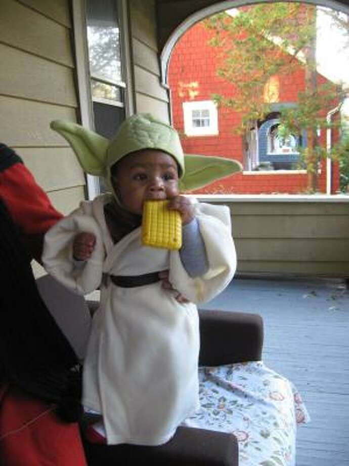 Name: Yoda Geek origin: character, Star Wars Photo: Flickr: Urban Hippie Love