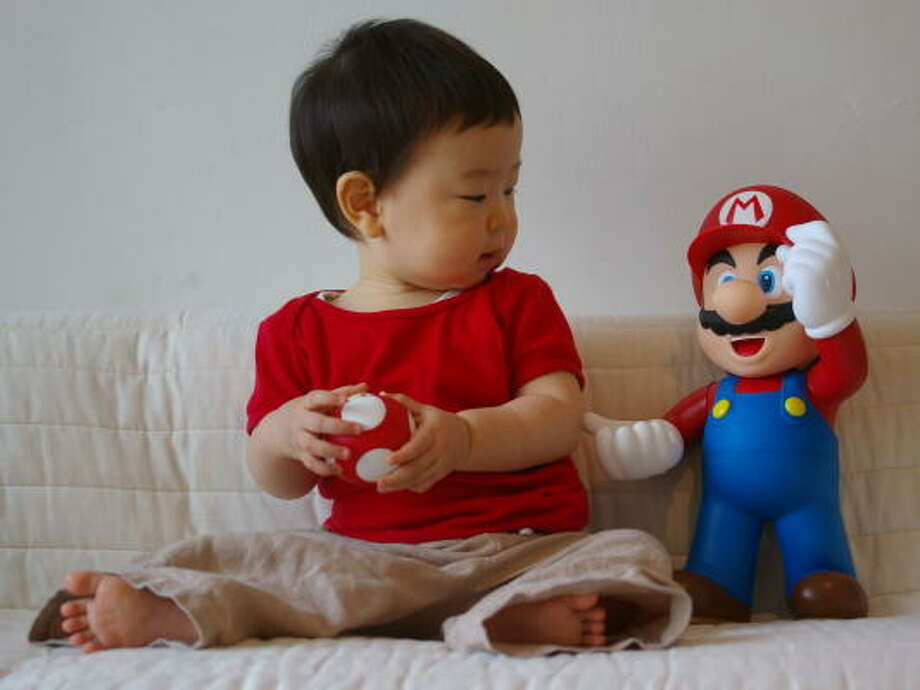 Name:Luigi Geek origin: character from video game franchise Mario Brothers Photo: Flickr: tamakisono
