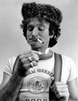 A look at Robin Williams in 1977 at age 26. Photo: ASSOCIATED PRESS