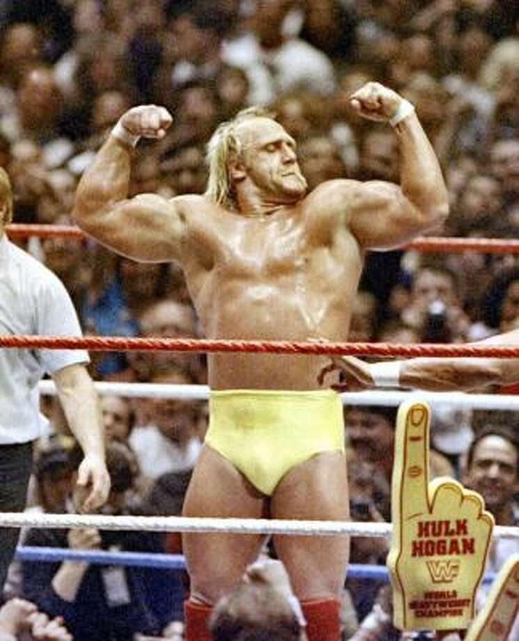 As a professional wrestler, Hulk Hogan was a 12-time world champion and one of the most popular and recognizable wrestling stars of all time. Photo: AP