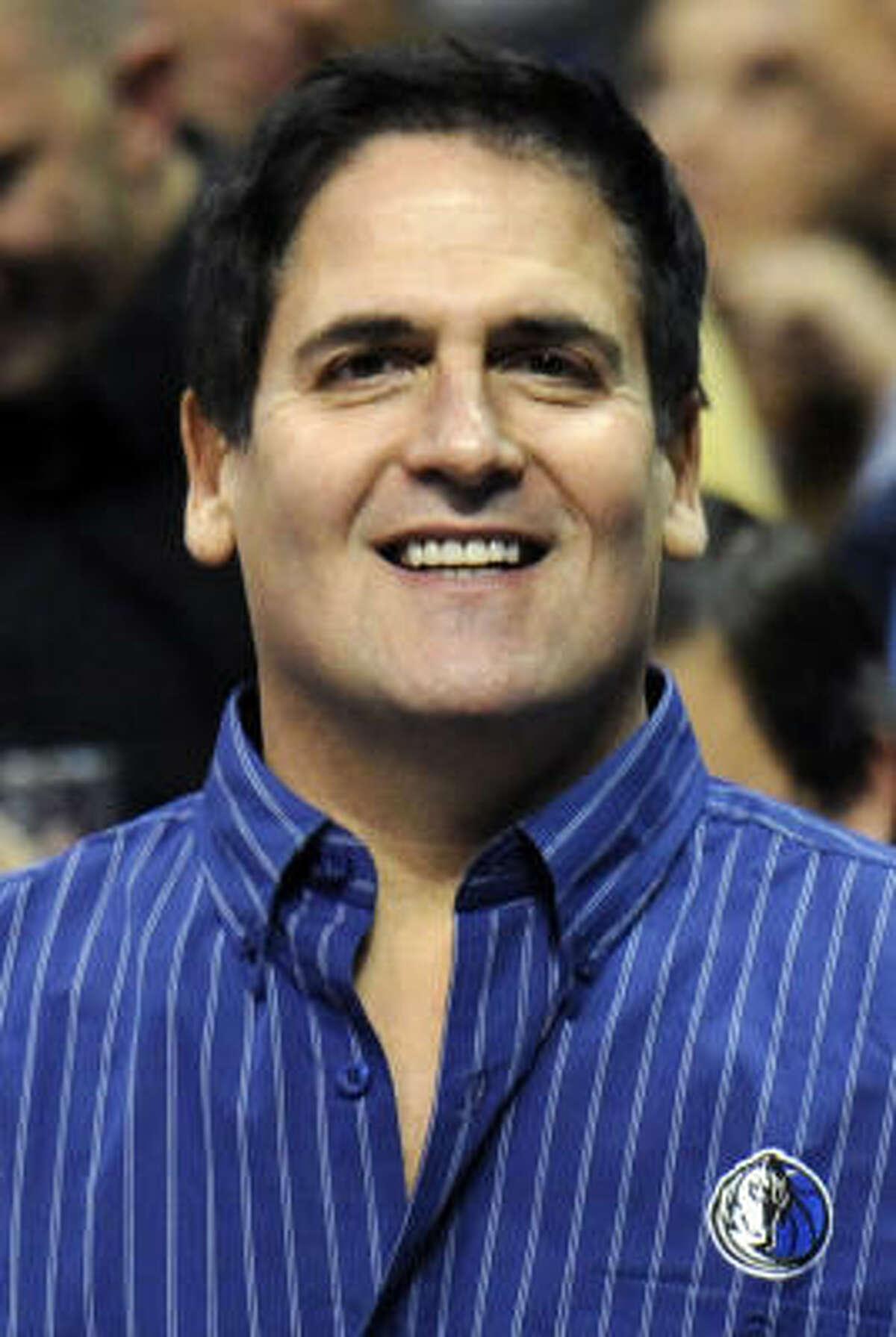 Mark Cuban, Dallas Mavericks Net worth: $2.5 billion Team value: $438 million