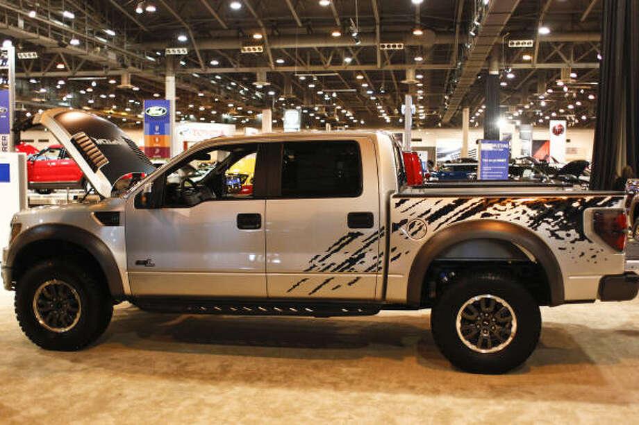 The 2011 Ford F-150 SVT Raptor Photo: Michael Paulsen, Houston Chronicle