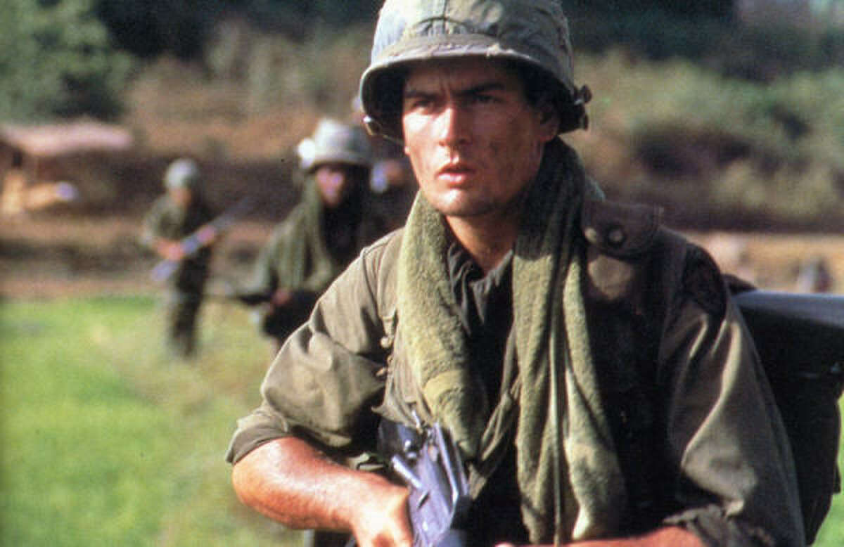 Many people consider Charlie Sheen's performance, as a young recruit in Vietnam during the war, in Platoon as one of his finest.