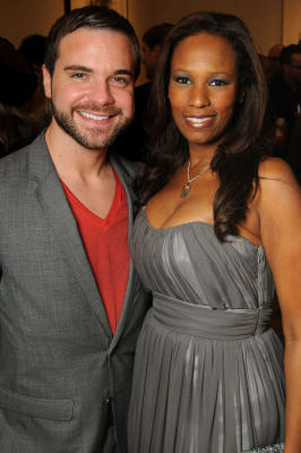 Nathan Kasselder and Michelle Profit