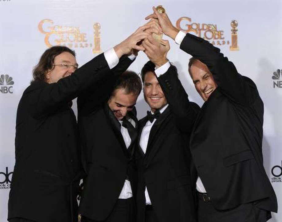 Best Mini-Series or Motion Picture Made for Television Carlos Photo: Mark J. Terrill, AP