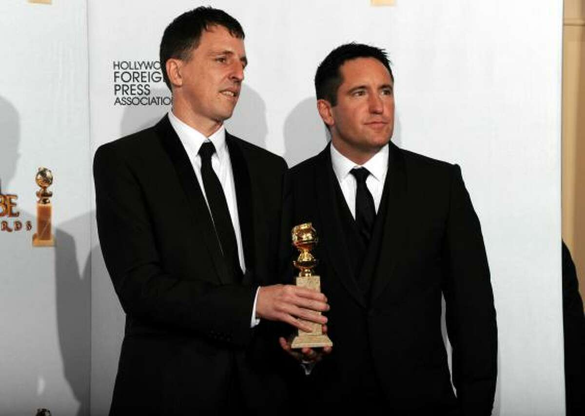 Best Original Score - Motion Picture Trent Reznor and Atticus Ross, The Social Network