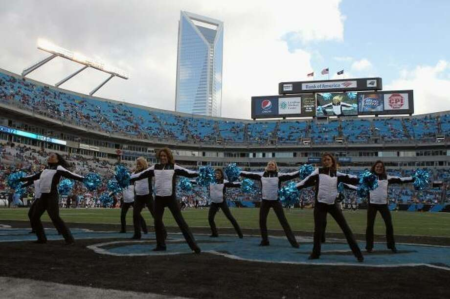 Bank of America Stadium – Carolina Panthers – $8.2 million per year. Photo: Streeter Lecka, Getty Images