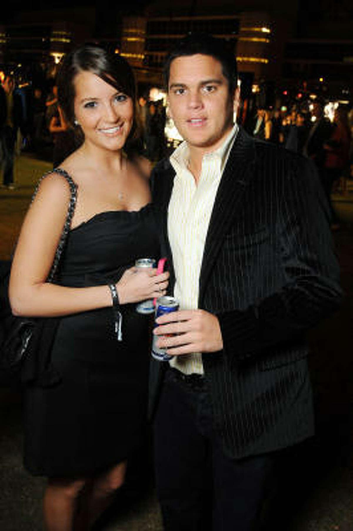 Brittany Orlando and Luis Deorbegoso
