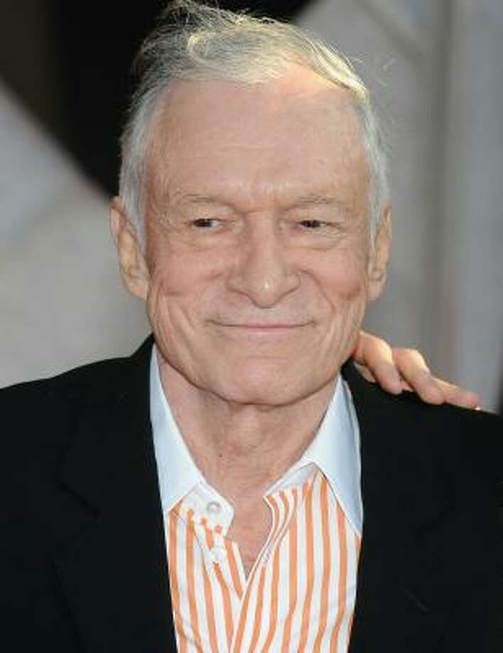 The man who started it all: Hugh Hefner. Hef founded Playboy in October of 1953. He recently made the decision to ban nudes from Playboy magazine. Take a look back at the evolution of this adult magazine. Photo: ROBYN BECK, AFP/Getty Images