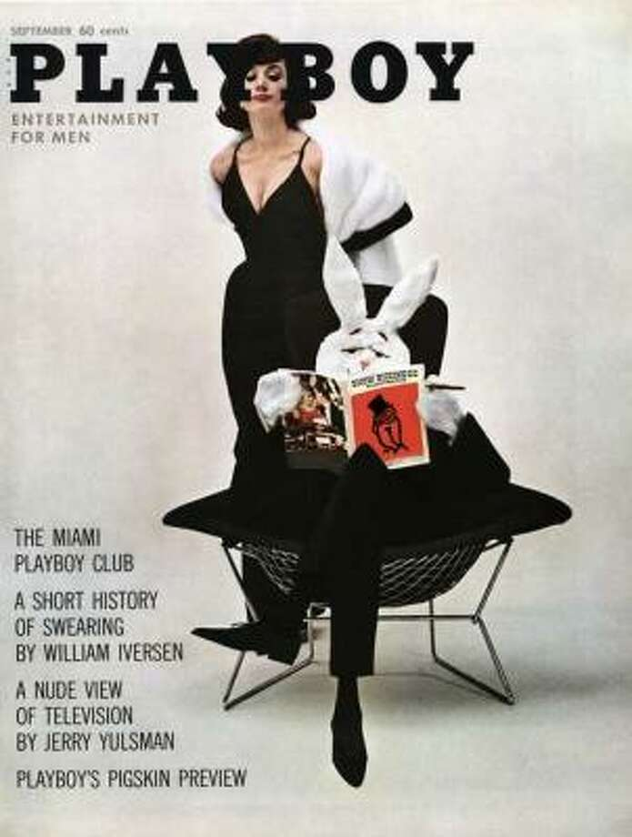 Mr. Playboy and Barbara Lawford play house on the cover of the September 1961 issue.