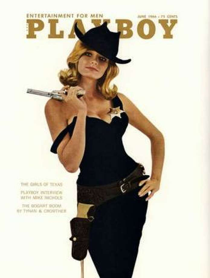 Mary Warren sports the wild west look for the Girls of Texas spread.June 1966.