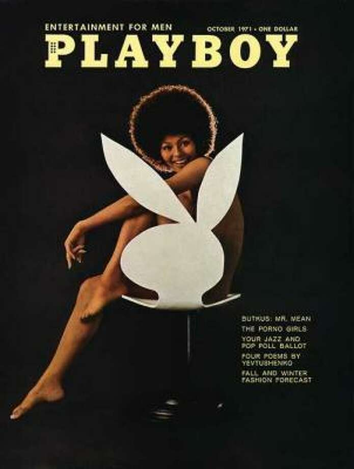 Darine Stern was the first African-American model to be featured on the cover of Playboy. October 1971.
