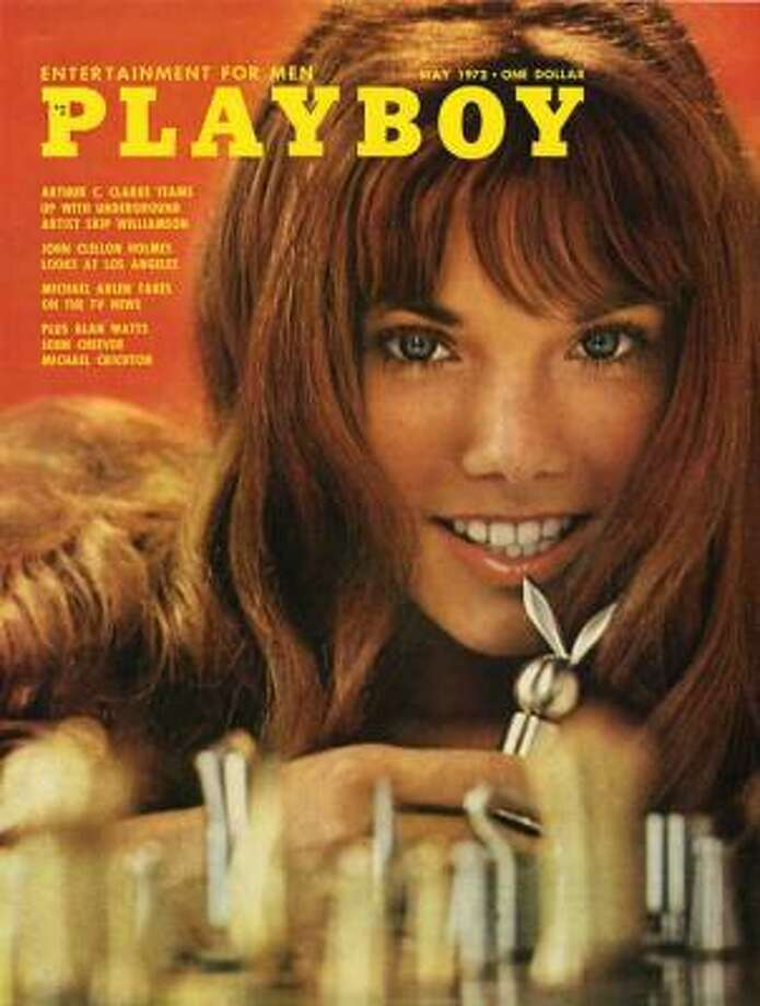 Barbi Benton (initially credited as Barbi Klein) on the cover of the May 1972 issue.