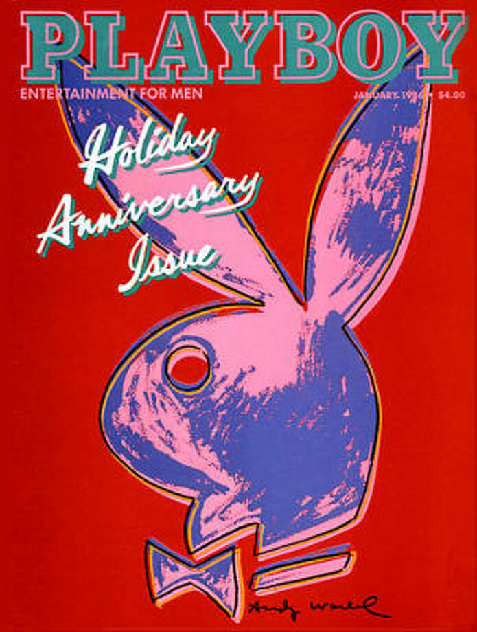 Andy Warhol designed this cover for the Holiday Anniversary issue. January 1986