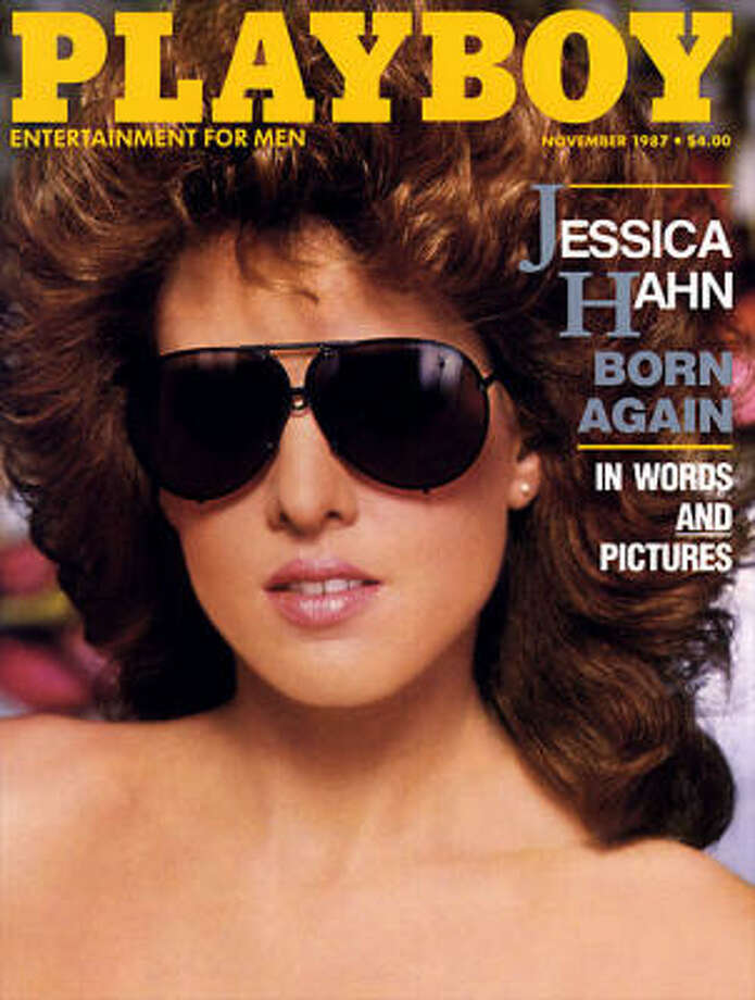 Jessica Hahn decided to pose for the magazine a couple months after news of her sex scandal with televangelist Jim Bakker spread across the country. November 1987.