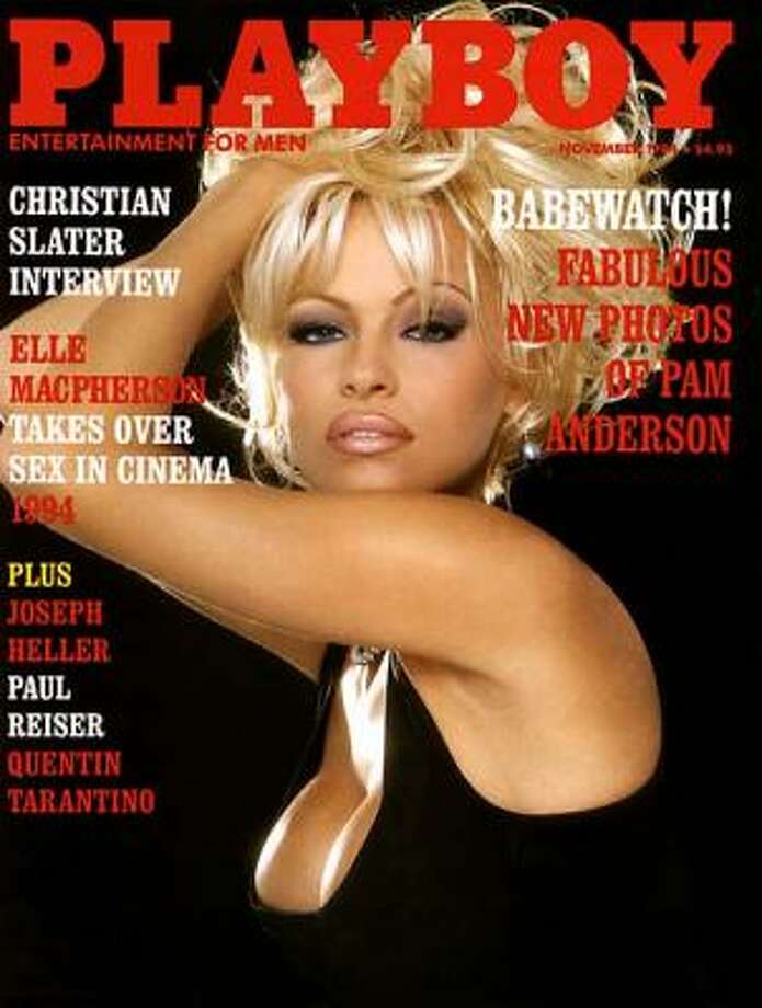 Pam Anderson has graced the cover of Playboy more times than anyone else. Her work with the magazine spans 22 years (1989-2011). November 1994.