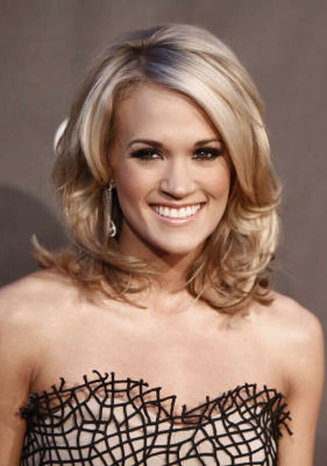 Favorite female artist Carrie Underwood Photo: Matt Sayles, AP