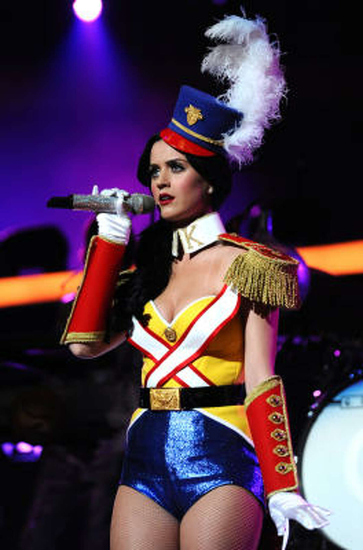 Favorite female artist Katy Perry