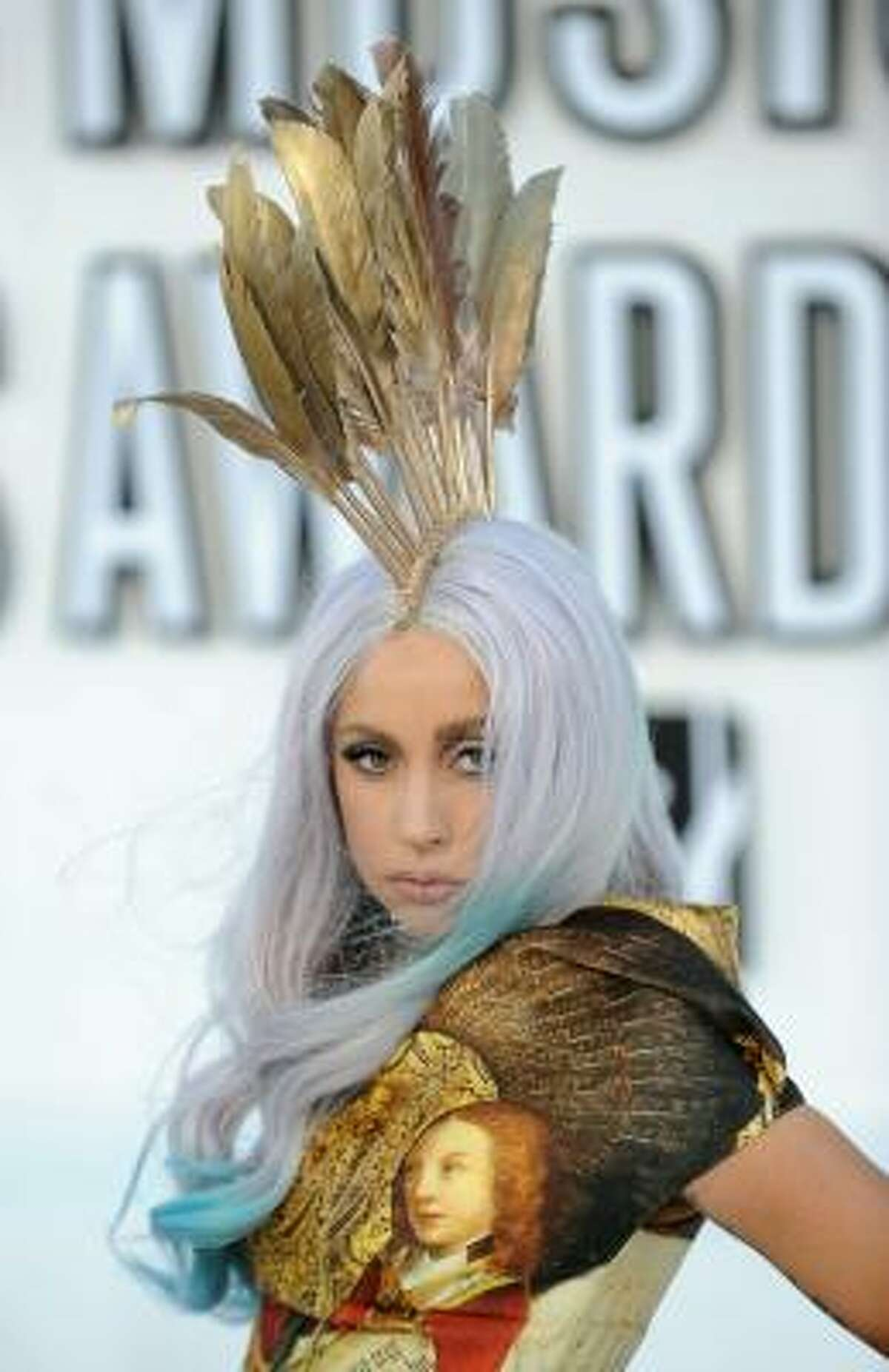 Favorite female artist Lady Gaga