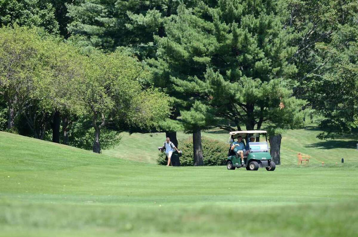Golfers participate in the City golf championship on Saturday, July 30, 2011 at Sterling Farms Golf Course in Stamford, CT.