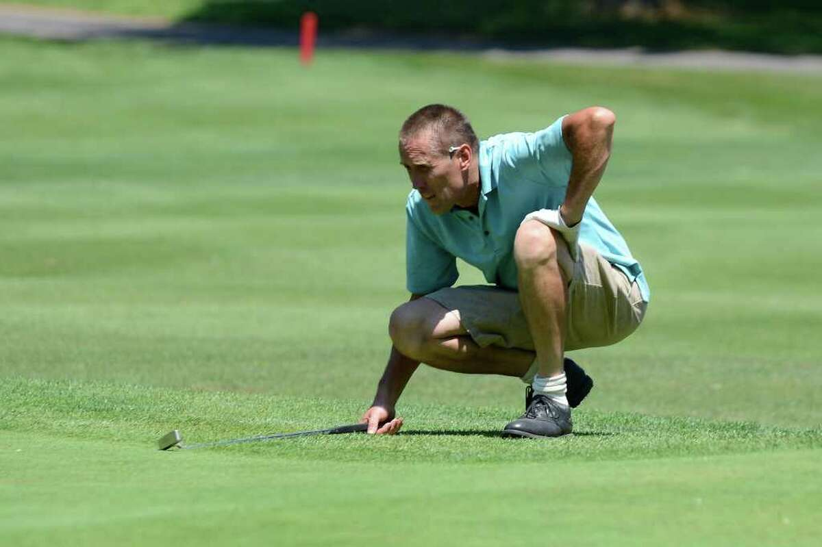 Denis O'Dwyer, Stamford, participates in the City golf championship on Saturday, July 30, 2011 at Sterling Farms Golf Course in Stamford, CT.
