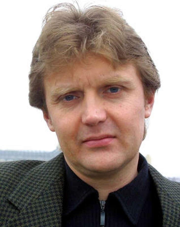 Alexander Litvinenko. Photo: ALISTAIR FULLER, AP