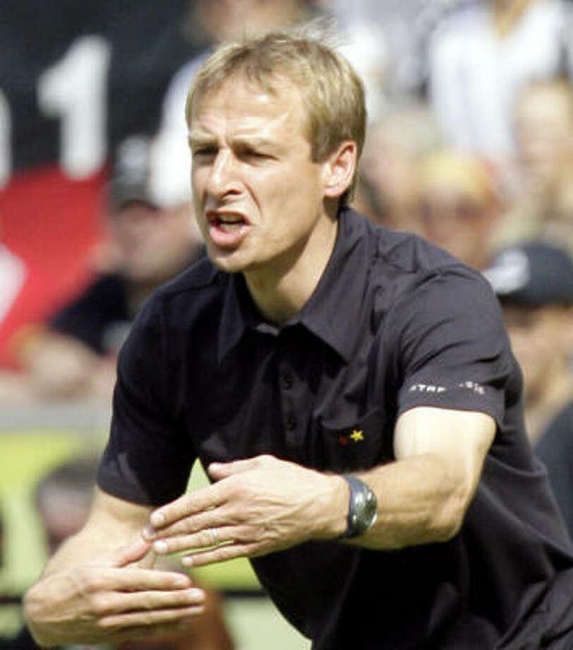 If U.S. soccer brass wants its next coach to be a seasoned leader, Jürgen Klinsmann could be the guy. Photo: MICHAEL SOHN, AP