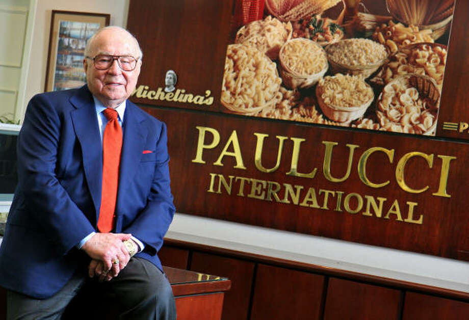 Jeno Paulucci, who runs Paulucci International from Sanford, Fla., is poised to enter the China market or wherever microwave ovens have a presence. He still regrets selling his namesake Jeno's pizza rolls company to General Mills in 1985. Photo: Joanne Carole, AP