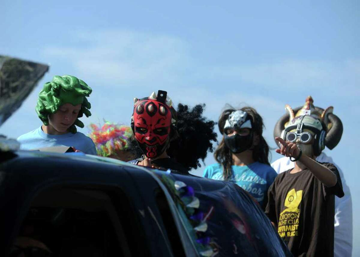 The annual parade kicks off Woodmont Day Saturday, July 30, 2011 in Milford, Conn.