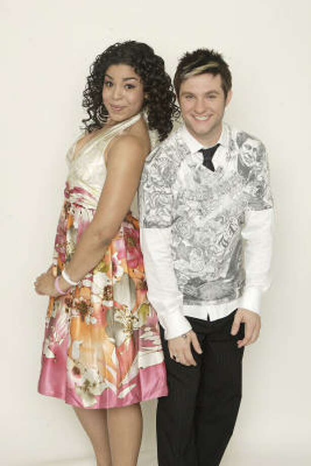 Jordin Sparks, left, and Blake Lewis will duke it out May 22 on American Idol, and the winner will be revealed May 23. Photo: Fpx