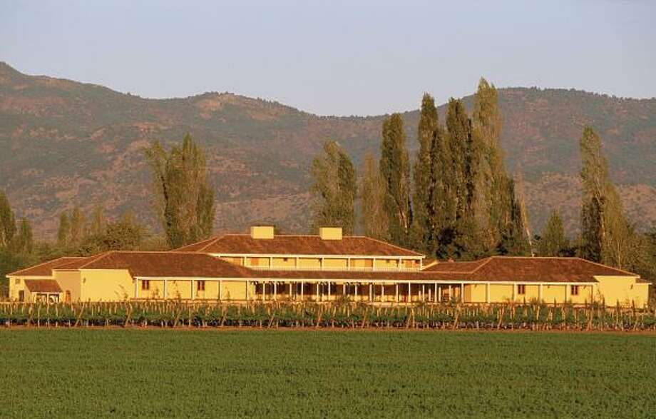 "The Colchagua Valley is home to the La Playa Winery and Hotel, situated on the banks of the Tinguiririca River not far from the Pacific Ocean. It's becoming known as ""Chile's Napa Valley"" and is a 2 1/2 -hour drive south of the capital, Santiago. Photo: LA PLAYA WINERY"